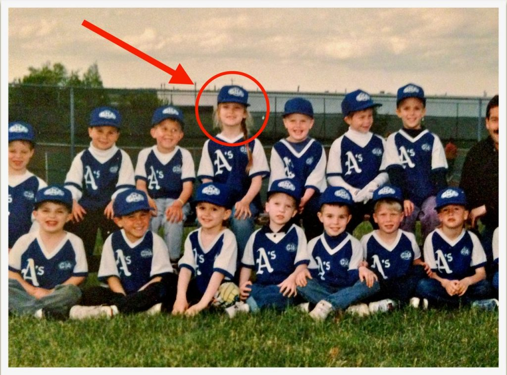 kate's baseball picture